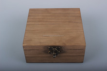 High quality customized stain wooden box
