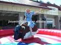 Touro mecânico inflável inflável red bull, mecânica- touro- passeio- para- venda