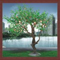 2014Professional production high imitation artificial peach blossom tree new product artificial peach blossom tree