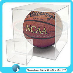 unique made various style acrylic display cases best sale cheap plexiglass basketball display cases wholesale acrylic case