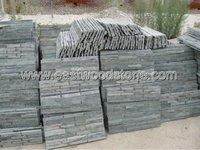 black slate ledge stone wall tile from Eastwood Manufacturer