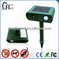 GH-191A solar cats/dogs/monkey repeller