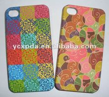 blossom beautiful hard shell water transfer Case for iphone 4 4s
