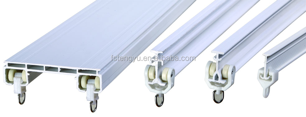 Double Ceiling Curtain Track