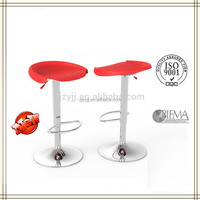 YMG-8812-1 italian modern cheap plastic swivel bar stool