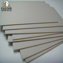Laminated Grey Chipboard for Book Cover Book Binding Board