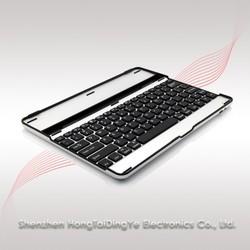 Aluminum Alloy Bluetooth Keyboard for ipad mini for ipad 2/3/4 /ipad mini/ipad air BKB013