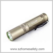 Cree led aluminium torch powerful electric flashlight