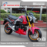 New design low price 110cc street legal motorcycle