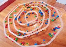 thomas train railway wood track