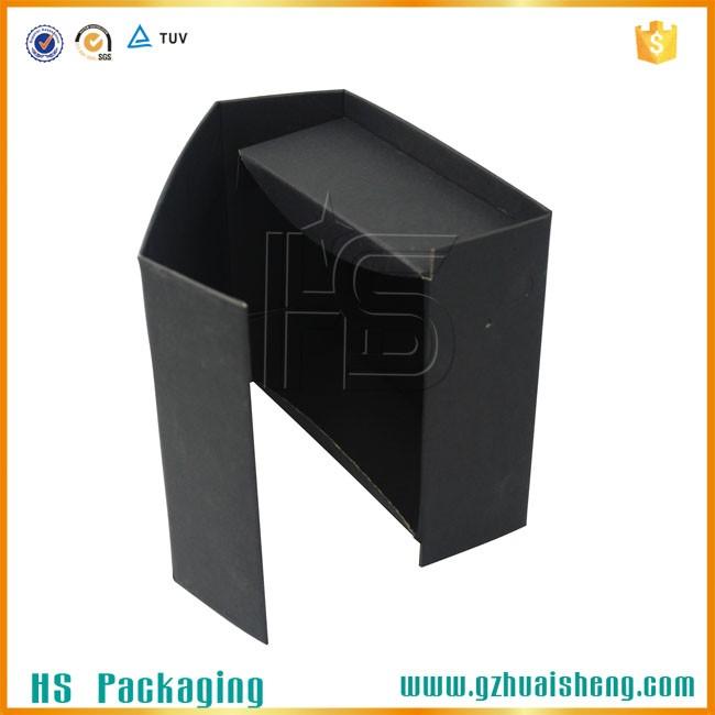 Fermeture magn tique logo personnalis noir pliable bo te - Emballage bonbon personnalise ...