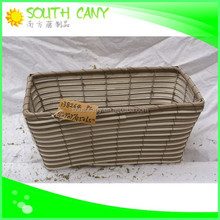 Hot sell cheap square planter stackable basket plastic