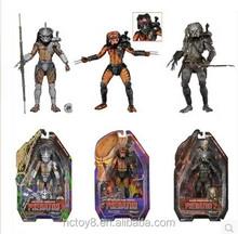 Comercio al por mayor NECA 7inch 3 pieza un conjunto Predators Elder figura figuras de acción del PVC Predator