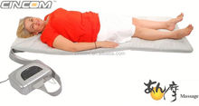 heating and vibration for massage roller bed