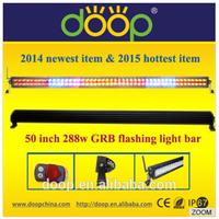 Newest product long life spam led flash light bar colour light bar