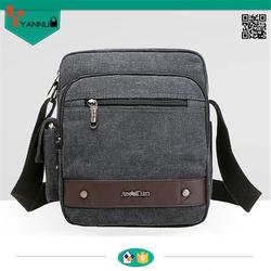 most popular high quality blank canvas new fashion bag wholesale messenger bag