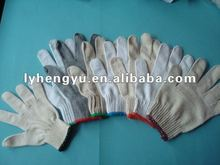 2012 HOT!!! White Knitted Cotton Glove