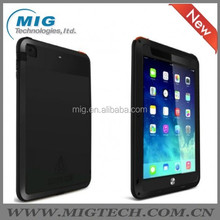 China supplier LOVE MEI Powerful AL metal case 6 colors For ipad 5, Shockproof Waterproof Rugged Gorilla with front glass
