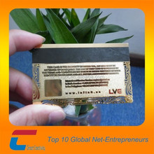 chuang xin jia magnetic stripe metal card , business card metal