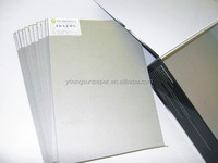 100% recycle lever arch file gray cardboard 2.1mm