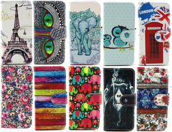 Magnetic Wallet Book Printed Leather Card Flip Stand Classical Lovely Case Cover For iphone 6