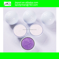 new blank white personalized three layer tournament golf balls