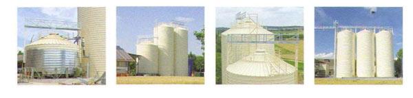 Anyang Lipp Silo Engineering Grain Silo 500T - 8000T