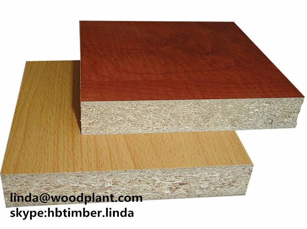 Construction Grade Particle Board ~ Used white oak melamine laminated e grade particle board