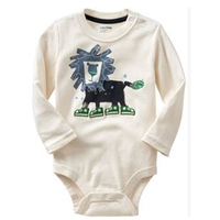 Lovely baby climb clothes cotton baby climb clothes Foreign trade The lion children's clothes