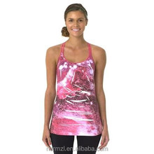 custom high quality red yoga wear for women