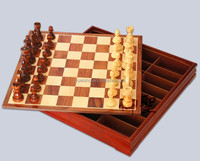 Alibaba Chess Piece Manufacturers Outdoor Wooden Chess Set