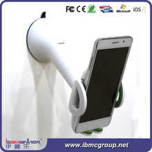 Flexible arm luxury functional wall mount cell phone holder, cell phone arm holder