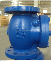 China supplier flange ends cast iron Swing Check Valve din standard