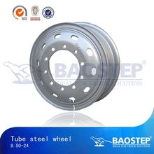 BAOSTEP High Quality Precise Size Preferential Price Steel Truck Wheels & Rims 19.5 For Daf