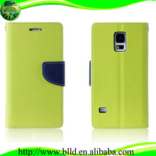 Proveedor de China funda de cuero para celular para Samsung S5