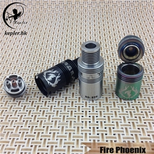Mass In Stock!!! Kepler original design fire phoenix rda atomizer for many fans of mechanical mods top sell quick delivery