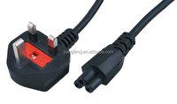 UK plug BS 1363 to C5 3 pin Laptop power lead