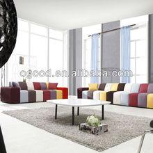 Colourful Sofa Home Cinema Modern Frame Fabric Sofa