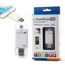 The Convenient Multi-functional External OTG Flash Drive Disk USB for iPhone iPad Air iPod