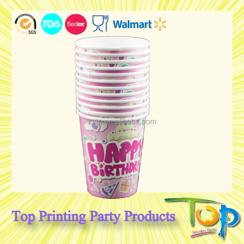 Birthday Party Supplies Paper Cup - Buy Birthday Party Supplies,Party ...
