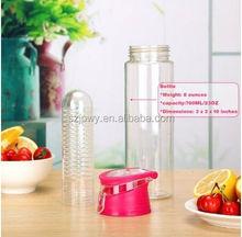 Sports Item 32oz water bottle joyshaker disposable Tritan Plastic & Leak Proof fruit infuser water bottle infuser