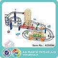 Caliente y nuevo niños de juguete de plástico b/o vagón de ferrocarril