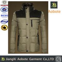 2015 New Fashion Foldable Outdoor Man Winter Jacket