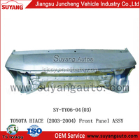 High Quality Steel Front Panel Assy For Japanese Used Toyota Hiace Diesel Van