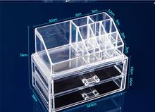Transparent Plexiglass Makeup Organizer,Clear Acrylic Jewelry Drawer