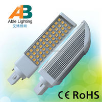 hot sale 2014 cool white 44 smd 5050 9w dimmable 220v g24 led pl light