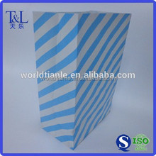 Beautiful blue packaging bag paper with good quality and low price manufactured by T&L brand