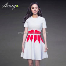 2015 newest express delivery women uniform dress summer beach dress wholesale