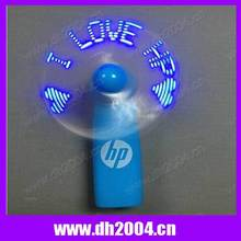 customized handheld led message fan with high quality and best price