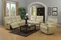 Zoy-99200 white graceful leather recline home sofa furniture and Comfortable recliner chair